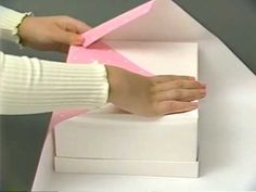 Japanese Style Gift Wrap-Directions in Japanese, but you'll get the idea. Awesome!