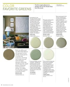6 Serene Green Paints That Don't Say Green
