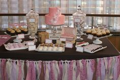 dessert bars for weddings | More exciting photos of dessert bars for weddings from Lemon Sprinkle ...