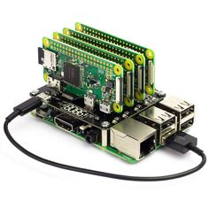 The Cluster HAT is the perfect tool for modelling, testing and teaching small scale clusters. The Cluster HAT is designed to interface a controller (Raspberry Pi with 4 Raspberry Pi Zero's configured to use USB gadget mode. This Kit Includes 1 Linux, Computer Projects, Electronics Projects, Electrical Projects, Electrical Engineering, Computer Cluster, Projetos Raspberry Pi, Raspberry Projects, Raspberry Pi Computer