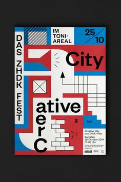 Lukas Ackermann's playfully abstract identity for new Zurich culture hub.