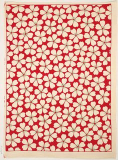 Decorative paper, 19th century. Block-printing on crepe paper, probably Japanese. British Library, via guardian