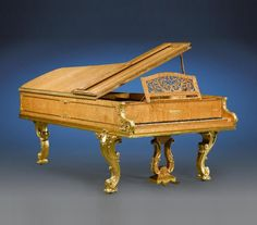 Carlotau0027s Grand Piano/Collard London The Piano Was Given To The Empress By  Her Brother In Law, Emperor Franz Joseph Of Austria, On The Occasion Of Her  ...