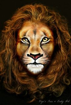 """Learn how to create an Amazing Realistic Lion Makeup look by watching this video tutorial. Inspired by the """"Lion King"""" (Makeup Scar Lion King) movie and ..."""