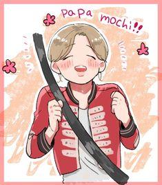 Vmin, Jimin Fanart, Bts Photo, Mochi, Jikook, Bts Jimin, Army, Fan Art, Kpop