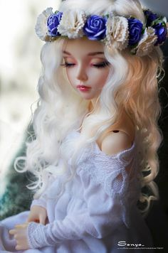 love, sweet and easy. My spring and the sun. It smells like flowers. ○°♡ BJD ♡°○ More○°♡ BJD ♡°○ Anime Dolls, Ooak Dolls, Blythe Dolls, Barbie Dolls, Barbie Clothes, Pretty Dolls, Beautiful Dolls, Enchanted Doll, Cute Baby Dolls