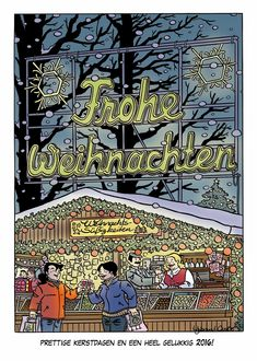 Incognito Comics: Kerstkaarten 2015 - Eppo Stripblad, Eric Heuvel, Lode Devroe en IJsbrand Oost