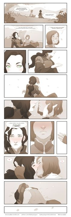 ajckorrasami:  denimcatfish:  Quick Korrasami comic I made today during my breaks from work. Text is a little small when viewed in the dash xD. It's a bit clearer here.   aww