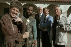 My Year With The A-Team: Season Episode 20 - Mission of Peace 70s Tv Shows, Old Shows, George Peppard, Super Secret, Group Pictures, Save The Day, The A Team, Post Punk, The Good Old Days