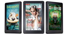 Kindle Fire- great for mags