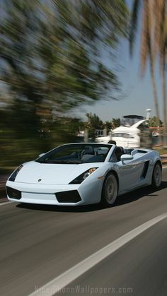 Lamborghini Gallardo Spyder 2006 IPhone 6/6 Plus Wallpaper