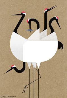 """다음 @Behance 프로젝트 확인: """"Cranes"""" https://www.behance.net/gallery/47066127/Cranes"""