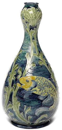 The Flowering of Pottery: Moorcroft Exemplifies Late 19th C.