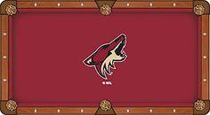 Arizona Coyotes Pool Table