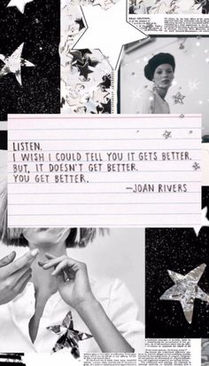 Great Quotes, Quotes To Live By, Me Quotes, Inspirational Quotes, Crush Quotes, Quotable Quotes, Joan Rivers, Control Quotes, It Gets Better