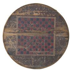 Classic and Original Barrel Top Checker Board