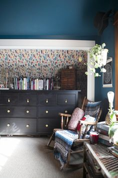House Tour: A Colorful Vintage Portland Home | Apartment Therapy