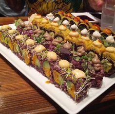 WHOA!! Vegan sushi from Beyond Sushi! NYC <3 Yes Pleeeeease!! #MyVeganJournal