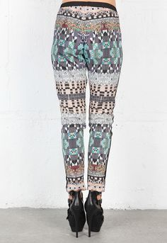 Clover Canyon Jeweled Tapestry Pant