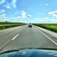 Driving through west Texas