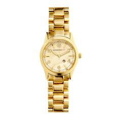 This handsome, chunky watch looks like a legacy from your grandfather--only you wear yours with a sexy sundress. IsaacMizrahiLive! watch, $41; qvc.com.