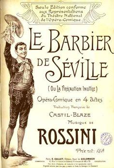 Le Barbier de Seville  FIGARO