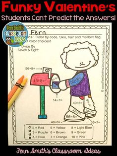 This St. Valentine's Day SUBTRACTION Resource includes FIVE Color By Code No Prep Printables that can be used for your math center, small group, RTI pull out, seat work, substitute days or homework, answer keys included too! Perfect for Early Finishers and Advanced Second Graders. These age appropriate lessons are a low prep, print and go resource that includes all color coded answer keys as well.