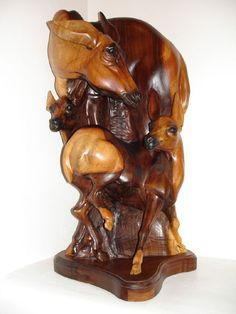 JPB:Wood Carving collection | Skip Armstrongs Deer