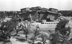 La Tour Friedrichshain,Berlin,modelé 1,dynamite 1946,