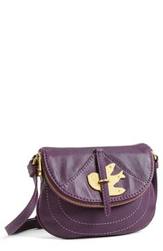 MARC BY MARC JACOBS Leather Crossbody Bag   Nordstrom $166.16