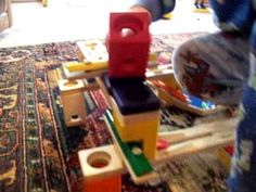 Such a great marble run - incorporates metal sound tones so the marbles create a melody.  Love!