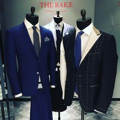 A fantastic selection of bespoke tailoring from the lovely fellows at