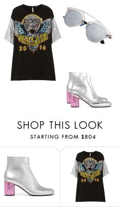 """""""Love"""" by blessedtdlee3 ❤ liked on Polyvore featuring Yves Saint Laurent and Versace"""