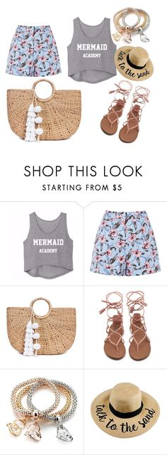 """""""The summer is started !!"""" by yasminekaramostefa on Polyvore featuring JADE TRIBE"""