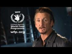 United Nations World Food Programme wfp org Werbung mit Oscar Gewinner Sean Penn 0001 - YouTube