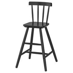 AGAM Juniorstol - svart - IKEA