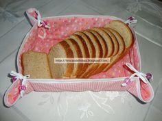 Porta pão de tecido passo a passo! | Artesanato & Humor de Mulher
