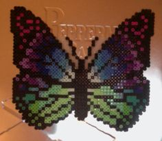 Perler Bead Butterfly by dhall100 on deviantART
