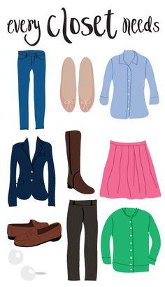 College Prep: every closet needs...