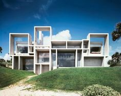 The Milam House in Ponte Vedra Beach, one of architect Paul Rudolph's signature Florida houses, completed in 1962.