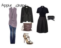 How to Dress For Your Body Shape - Apple