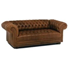 I pinned this Chesterfield Tufted Leather Sofa from the Design Detail event at Joss and Main!