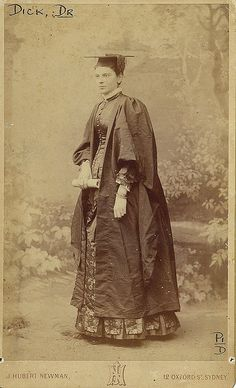 Dr. Frances Dick, first woman to practise medicine in New South Wales, Sydney, c1892 / photograph by J. Hubert Newman (State Library of NSW)