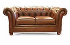 The Oversized Riley 2 Seater Chesterfield Sofa handmade in Hand Antiqued Brown leather that is 100% Top Grain Leather and carries a Lifetime Guarantee. Individual nailing on arms and super soft Reflex seats, handcrafted in England by time served craftsman. Measuring (LxDxH): 190x100x82cm. Other sizes are available. Length can be increased with increments of 20cm.