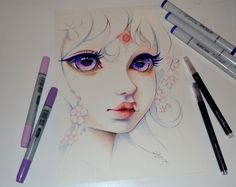 What a lovely commisson! Lady Amalthea from The Last Unicorn <3 I watched it again only recently and it was so moving. However, I wish they made a new version of it with same soundtrac...