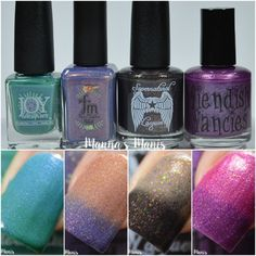 A nail polish blog with swatches, tutorials, nail art and reviews! Includes mainstream brands as well as indies.