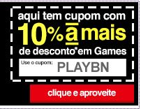 Cupom de 10% de Desconto em Consoles, Jogos, Acessórios e Placas de Vìdeo na Americanas