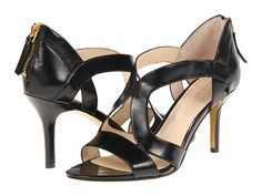 Nine West GigglyGirl Black Leather - Zappos.com Free Shipping BOTH Ways