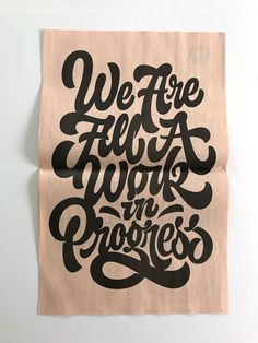 Inspiring and strong typography quotes can be an efficient solution for your workspace decoration. You can keep yourself motivated with style. Hand Drawn Lettering, Types Of Lettering, Lettering Styles, Brush Lettering, Lettering Design, Lettering Ideas, Hand Drawn Type, Typography Love, Typography Quotes