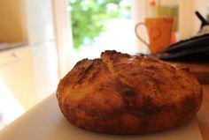 Surdeigsbrød No Knead Bread, Scones, Rolls, Cooking, Kitchen, Buns, Kochen, Bread Rolls, Brewing